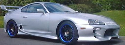 SUPRA   with Veilside Bodykit
