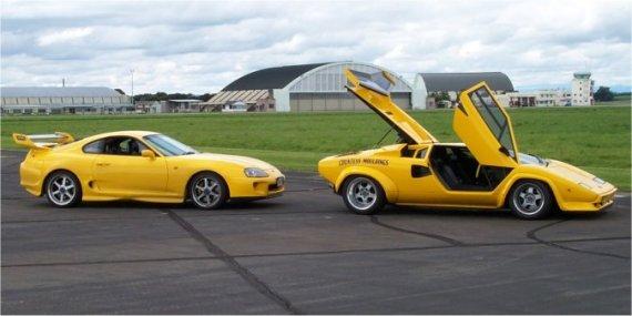 SUPRA_008   yellow SUPRA & yellow DIABLO