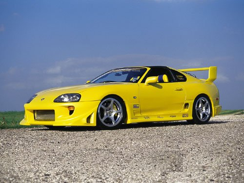 SUPRA_014   yellow TRD 3000gt bodykit